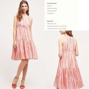 Daylily Stripe Dress by Eva Franco, S, NWT